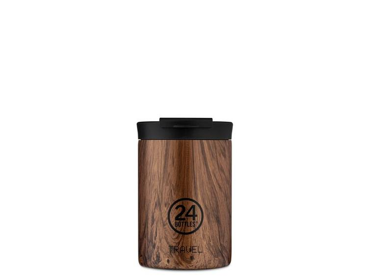 24 Bottles Thermobecher Travel 0.35 l Sequoia Wood